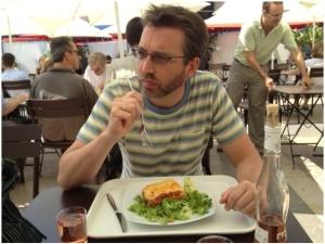 Lunch near Eiffel Tower