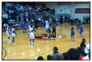 The opening tip.