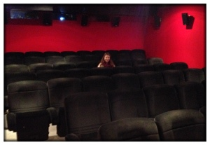 Ella & I (and pretty much no one else) went to the movies!