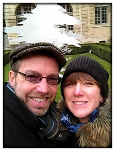 Inside the Hôtel de Sully garden, Step 7 of the walking tour.