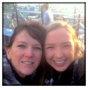 Melinda & Chloe went to the Pompidou.