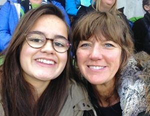 Meanwhile back in Seattle, Melinda and Celeste helped the Sounders win an important game.