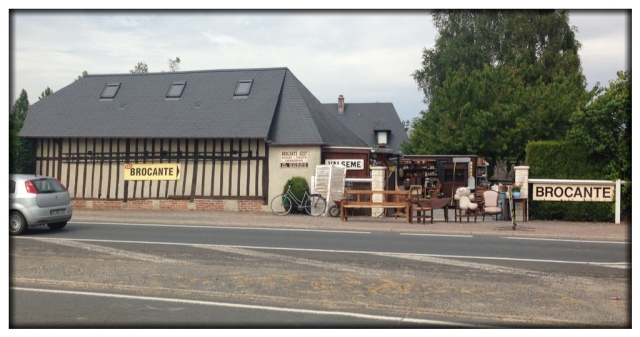 Yesterday,  Bernard took a group of us on a drive. We found this antique store along the road. It was fabulous!