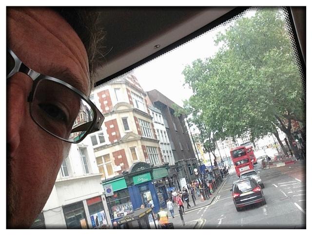 Rode a double-decker bus.